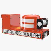 Flight Recorder FA2100 3d model