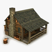 House Forest 3d model