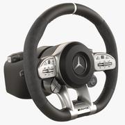 Steering Wheel Mercedes AMG GT 63s 3d model