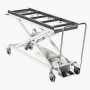 Carro de la morgue modelo 3d