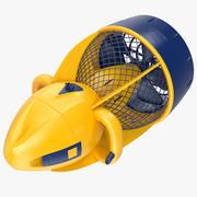 Scooter des mers 3d model