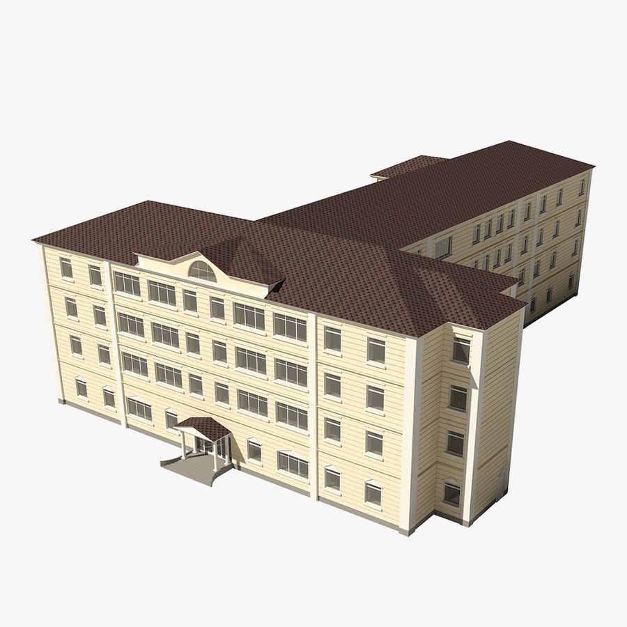 Bâtiment de la ville royalty-free 3d model - Preview no. 1