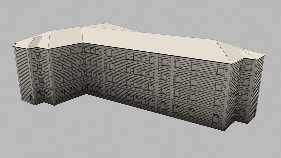 Bâtiment de la ville royalty-free 3d model - Preview no. 13