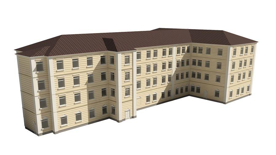 Bâtiment de la ville royalty-free 3d model - Preview no. 5