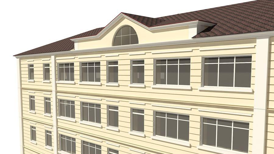 Bâtiment de la ville royalty-free 3d model - Preview no. 9