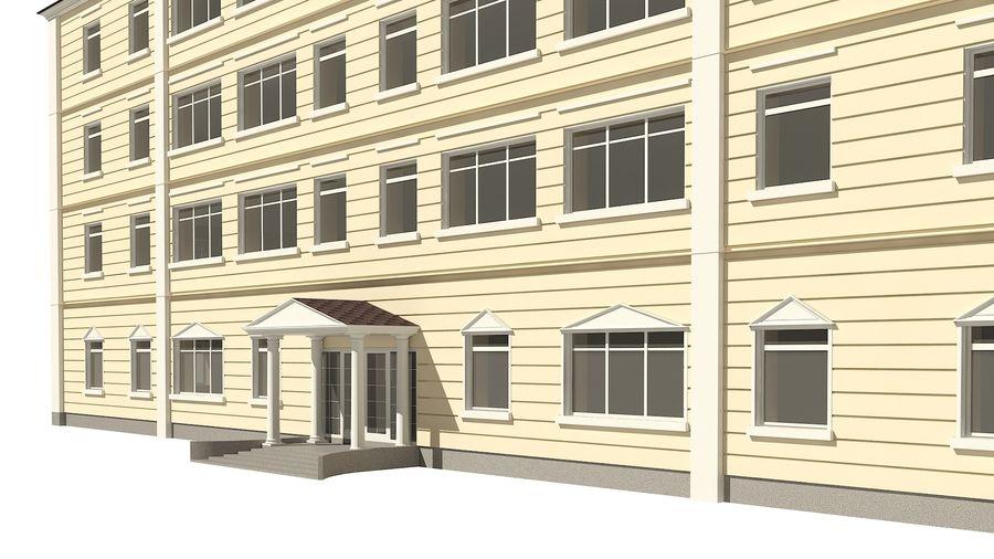 Bâtiment de la ville royalty-free 3d model - Preview no. 8