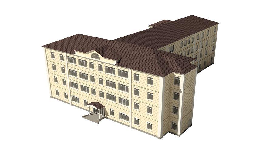 Bâtiment de la ville royalty-free 3d model - Preview no. 3