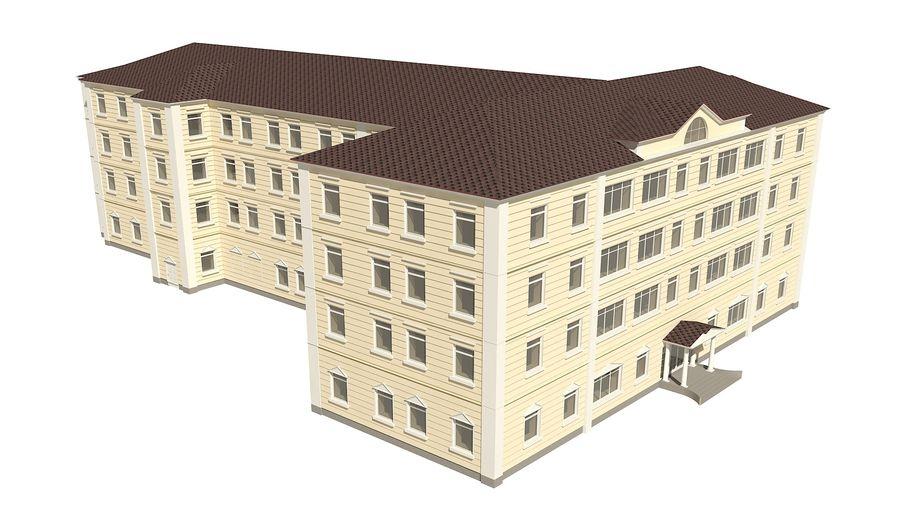 Bâtiment de la ville royalty-free 3d model - Preview no. 4