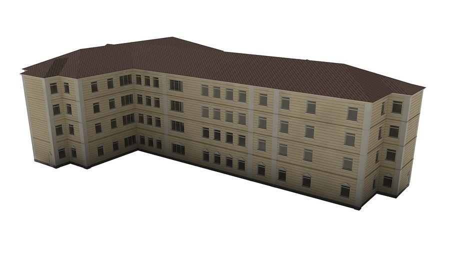 Bâtiment de la ville royalty-free 3d model - Preview no. 6