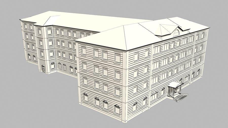 Bâtiment de la ville royalty-free 3d model - Preview no. 11