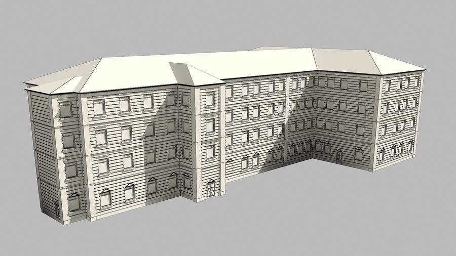 Bâtiment de la ville royalty-free 3d model - Preview no. 12