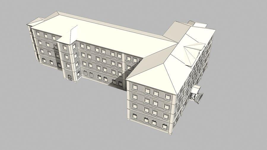 Bâtiment de la ville royalty-free 3d model - Preview no. 14