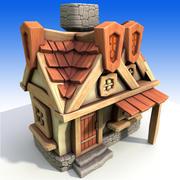 Дом 6 3d model