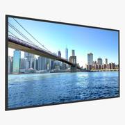 LED Wall TV 65英寸通用 3d model