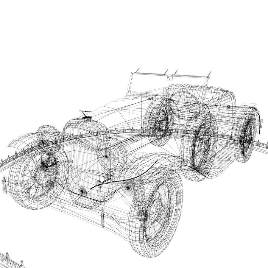 Antyczny samochód royalty-free 3d model - Preview no. 6