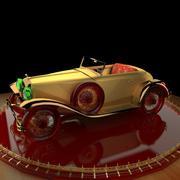 Antikes Auto 3d model
