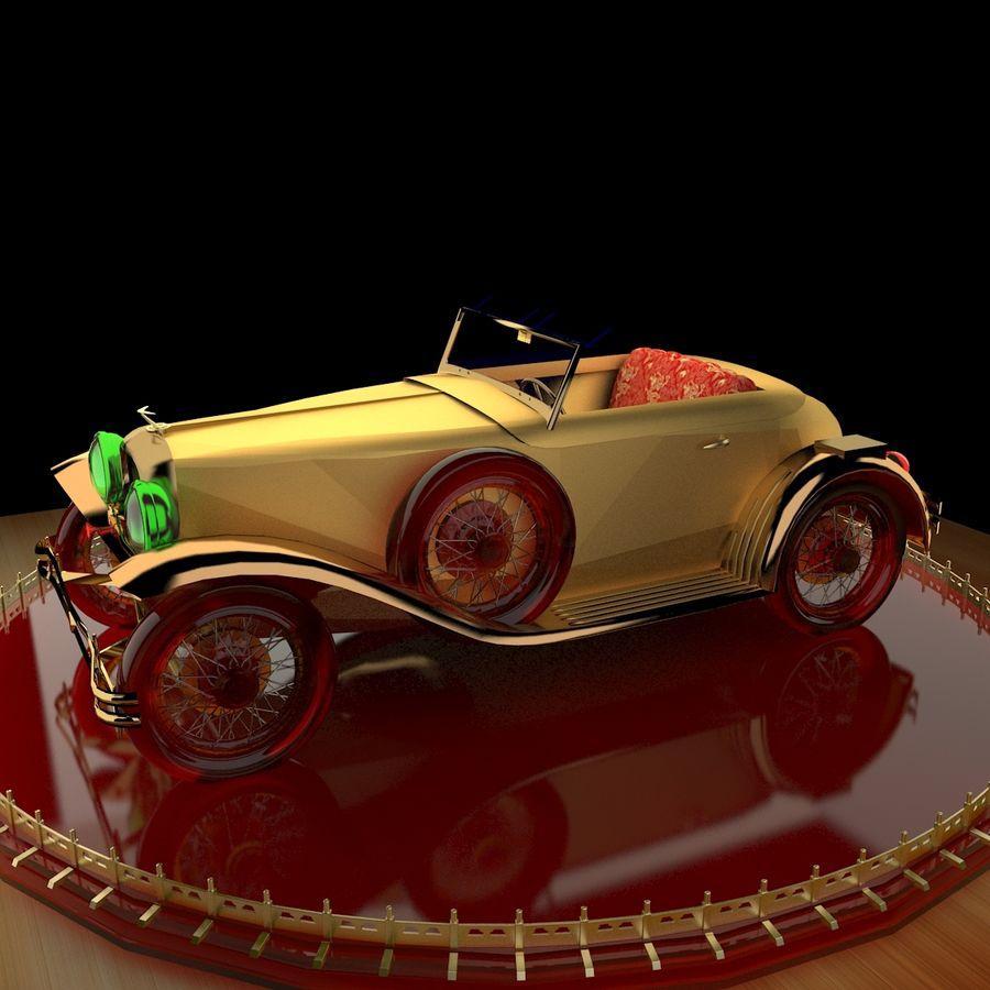 Antyczny samochód royalty-free 3d model - Preview no. 1