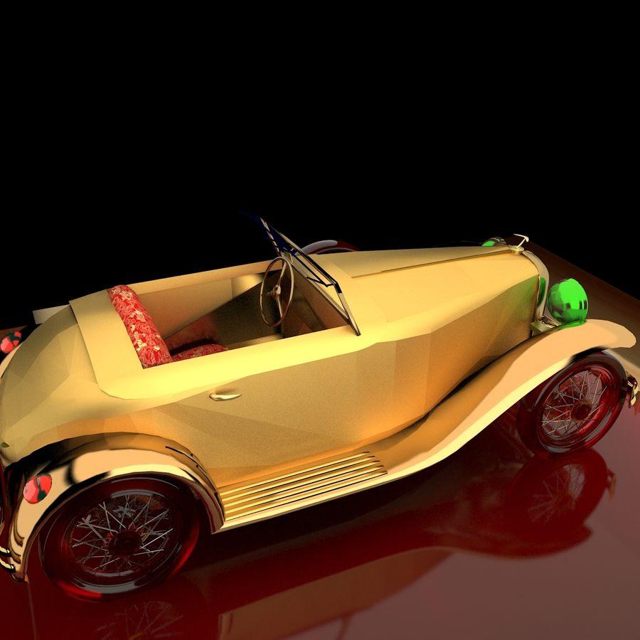 Antyczny samochód royalty-free 3d model - Preview no. 4