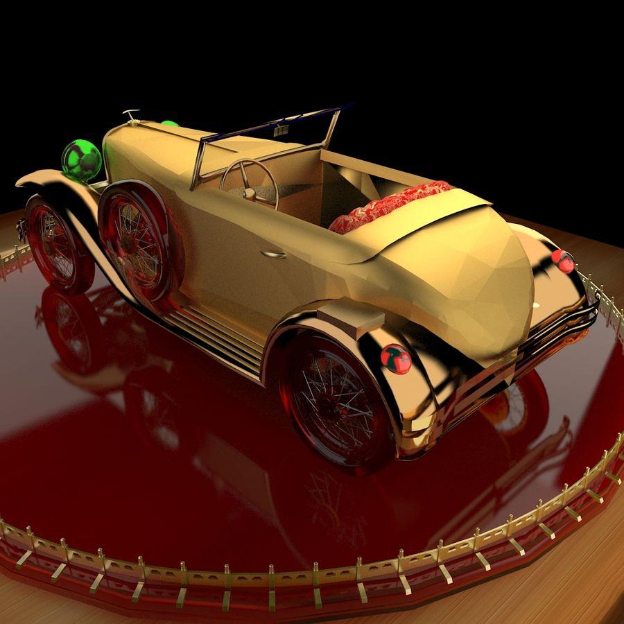 Antyczny samochód royalty-free 3d model - Preview no. 2