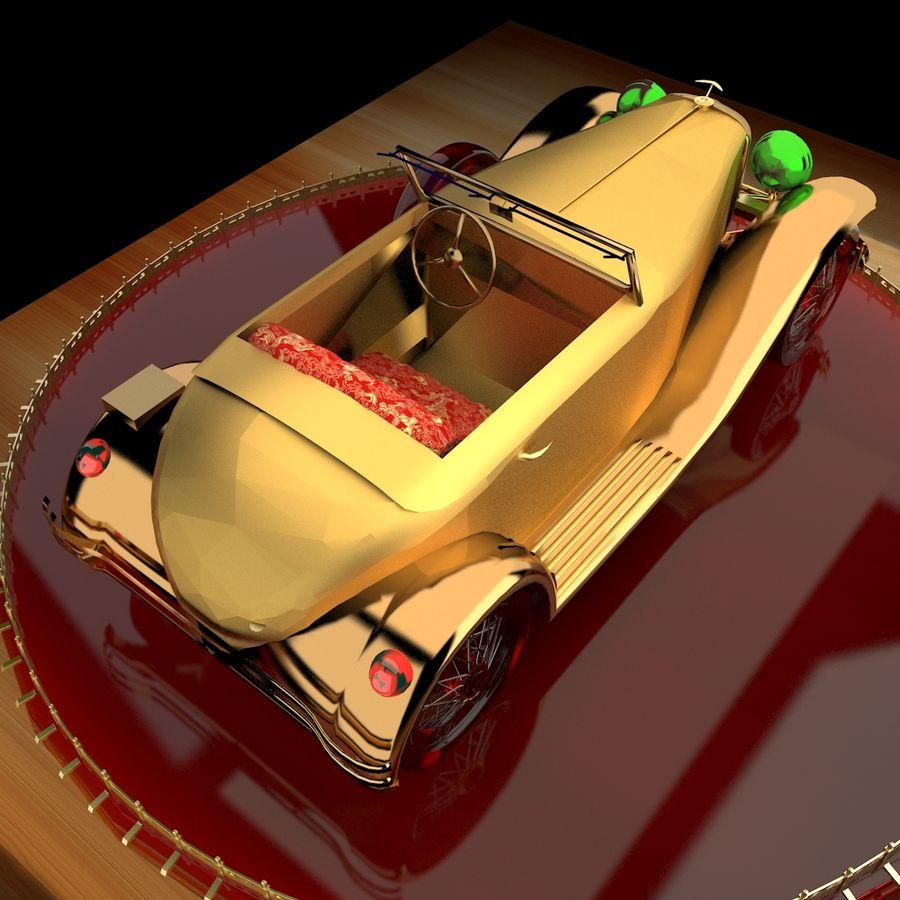 Antyczny samochód royalty-free 3d model - Preview no. 3