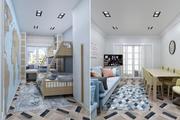 Hostel Apartment 3d model