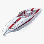 Generic Speed Sea Boat 1 3d model