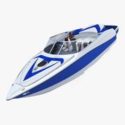 Generic Speed Sea Boat 2 3d model