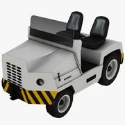 Caminhão de bagagem do aeroporto 3d model