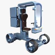 Sci-fi Scooter 3d model