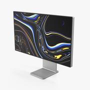 Apple Pro Display XDR ze stojakiem 3d model