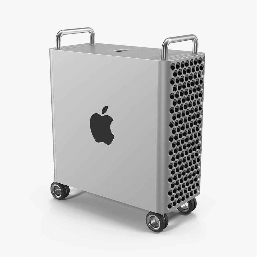 Mac Pro Wheels 2019 royalty-free 3d model - Preview no. 1