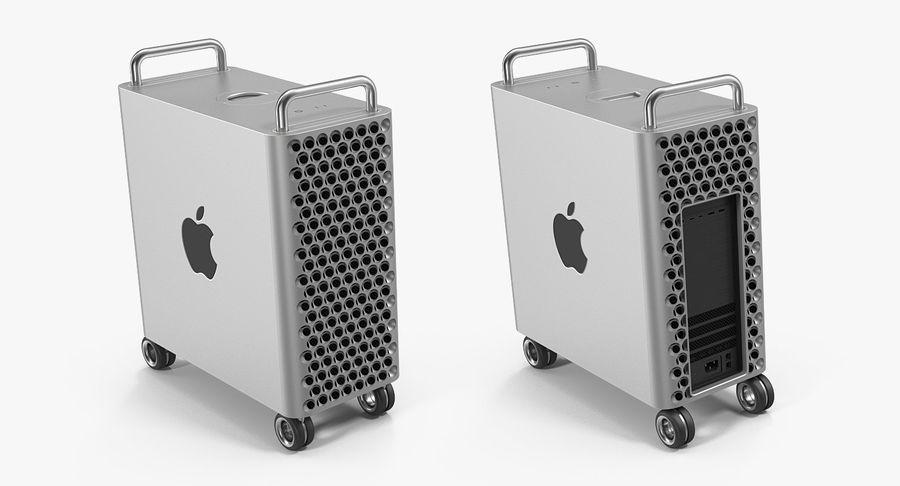 Mac Pro Wheels 2019 royalty-free 3d model - Preview no. 6