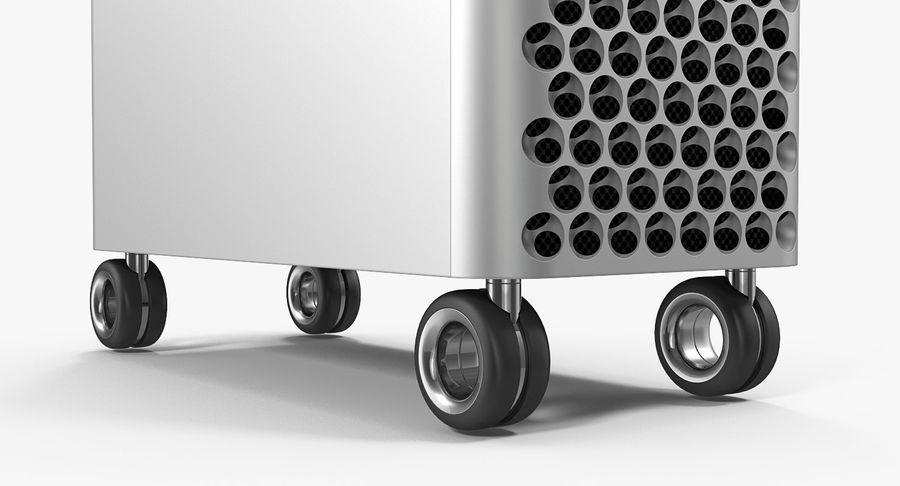 Mac Pro Wheels 2019 royalty-free 3d model - Preview no. 8