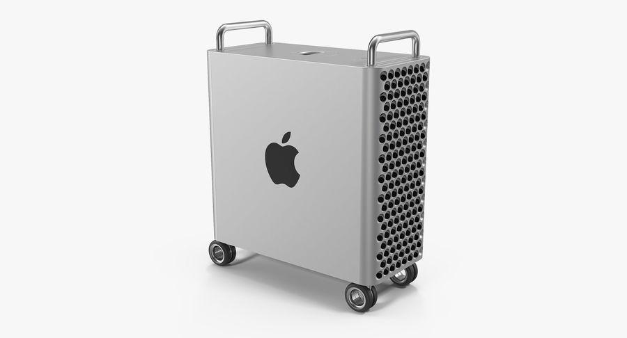 Mac Pro Wheels 2019 royalty-free 3d model - Preview no. 2
