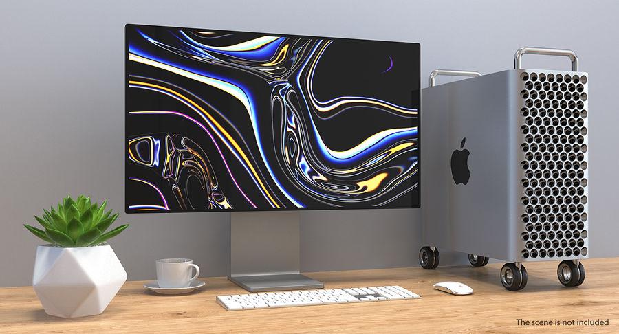 Mac Pro Wheels 2019 royalty-free 3d model - Preview no. 3