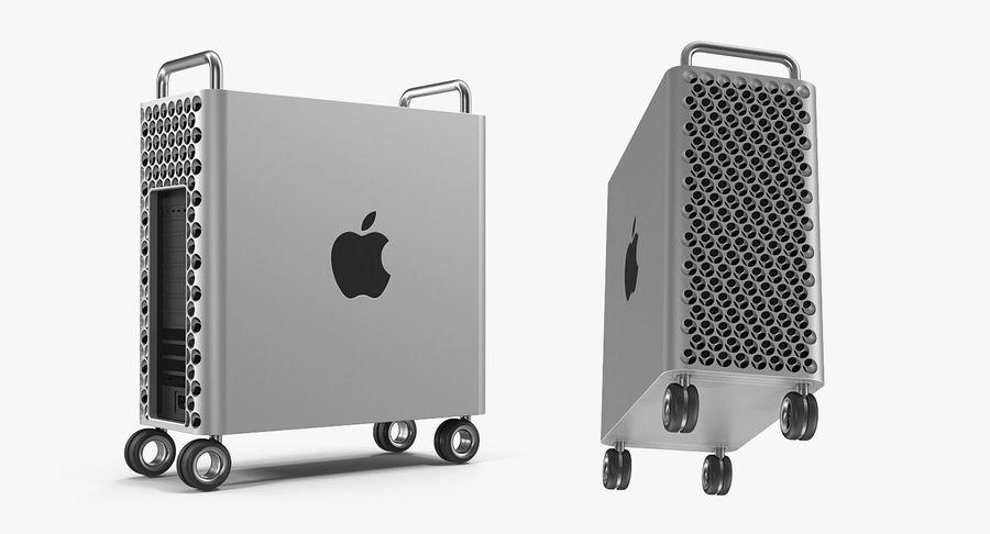 Mac Pro Wheels 2019 royalty-free 3d model - Preview no. 5
