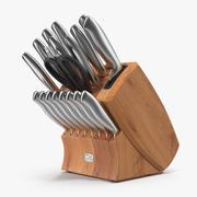 Нож из нержавеющей стали 3d model