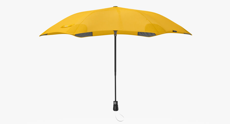 Umbrella Open 2 royalty-free 3d model - Preview no. 7