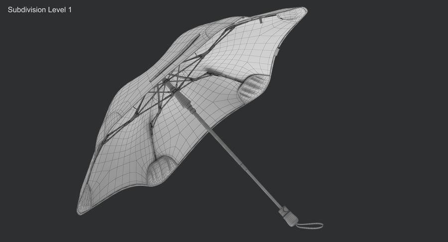 Umbrella Open 2 royalty-free 3d model - Preview no. 15