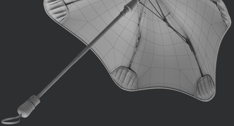 Umbrella Open 2 royalty-free 3d model - Preview no. 21