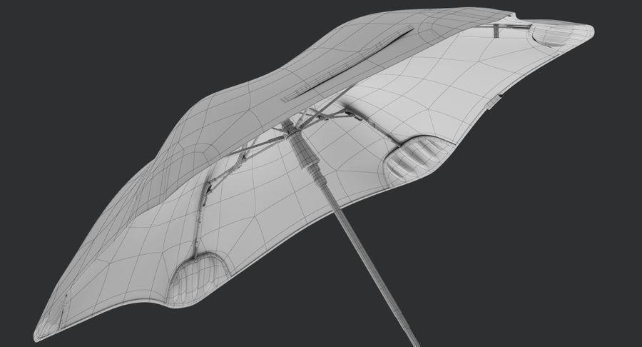 Umbrella Open 2 royalty-free 3d model - Preview no. 19