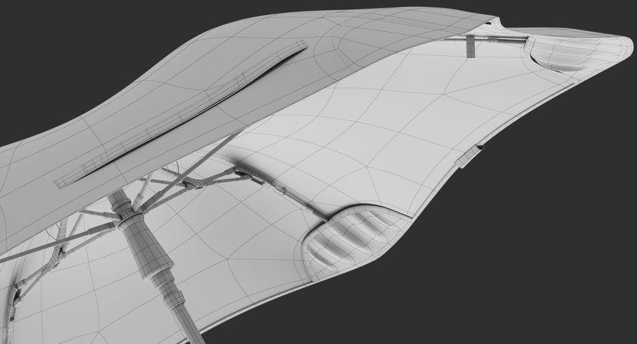 Umbrella Open 2 royalty-free 3d model - Preview no. 22