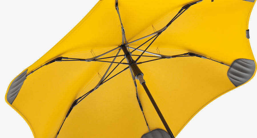 Umbrella Open 2 royalty-free 3d model - Preview no. 9
