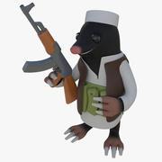 Mole Taliban 3d model