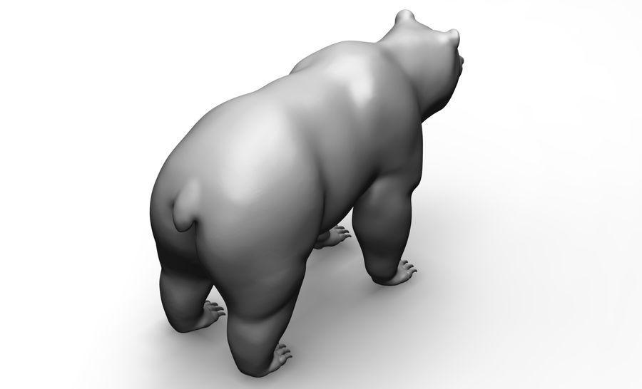 Malha base de urso royalty-free 3d model - Preview no. 4