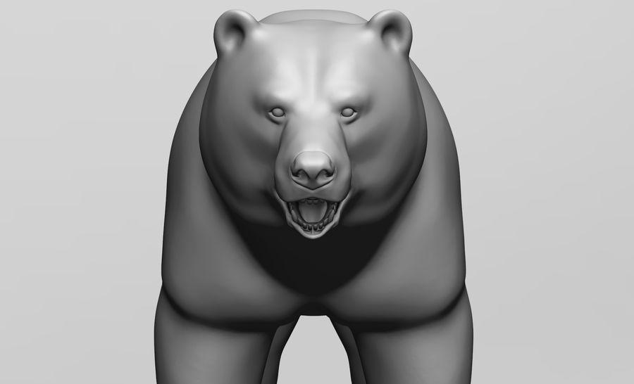 Malha base de urso royalty-free 3d model - Preview no. 6