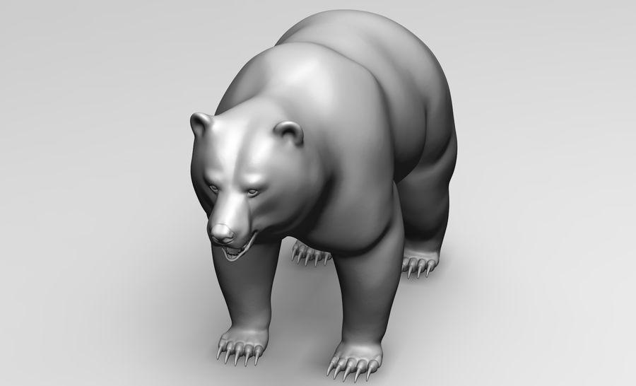 Malha base de urso royalty-free 3d model - Preview no. 3