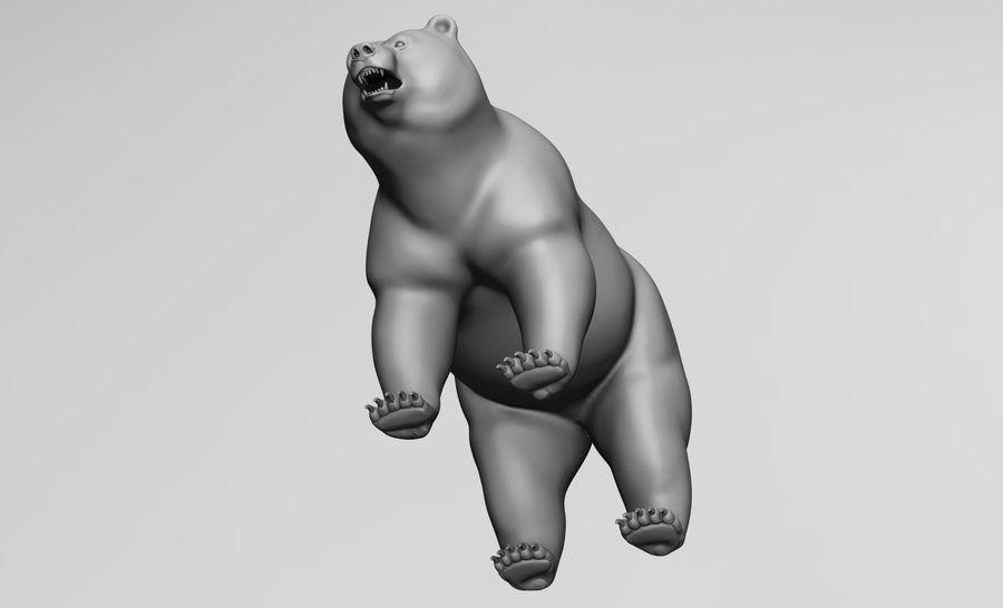Malha base de urso royalty-free 3d model - Preview no. 5