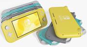 Nintendo Switch Lite Toutes les couleurs 3d model