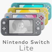 Nintendo Switch Lite 3d model
